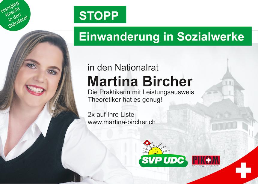 Nationalratswahlen bestellen Sie Werbematerial